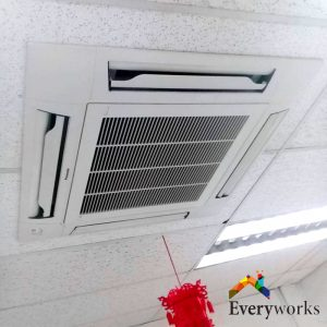 ceiling-cassette-aircon-installation-everyworks-aircon-servicing-singapore-co