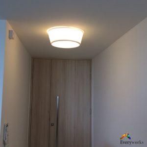 ceiling-light-installation-everyworks-singapore-handyman-condo-marine-parade