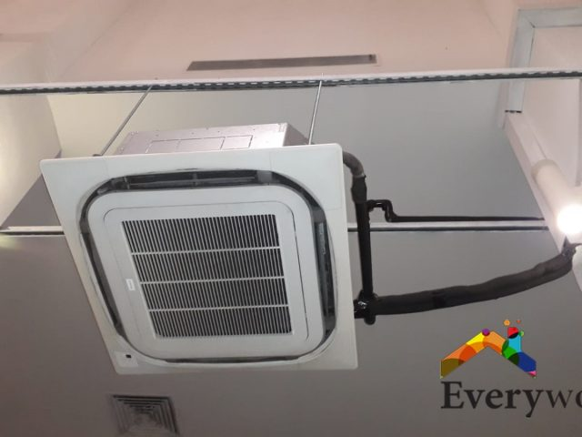 Aircon Servicing, Gas Top Up Chemical Overhaul & Solved Aircon Leak Singapore – Commercial, Dempsey Road