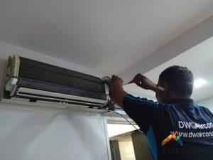 aircon-chemical-overhaul-aircon-insulation-solve-aircon-leak-singapore-hdb-bukit-panjang-6