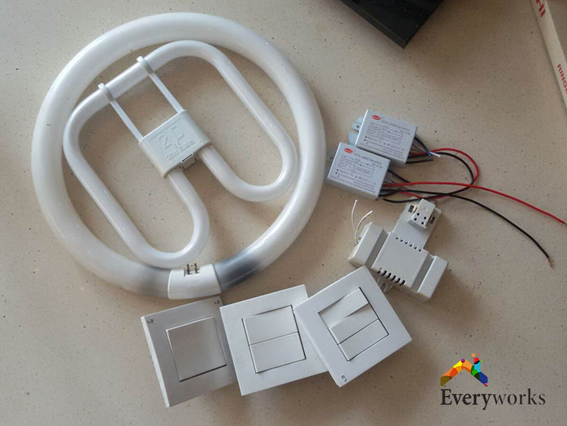 Changing Light Switches And Light Bulbs – Landed, Cashew Road