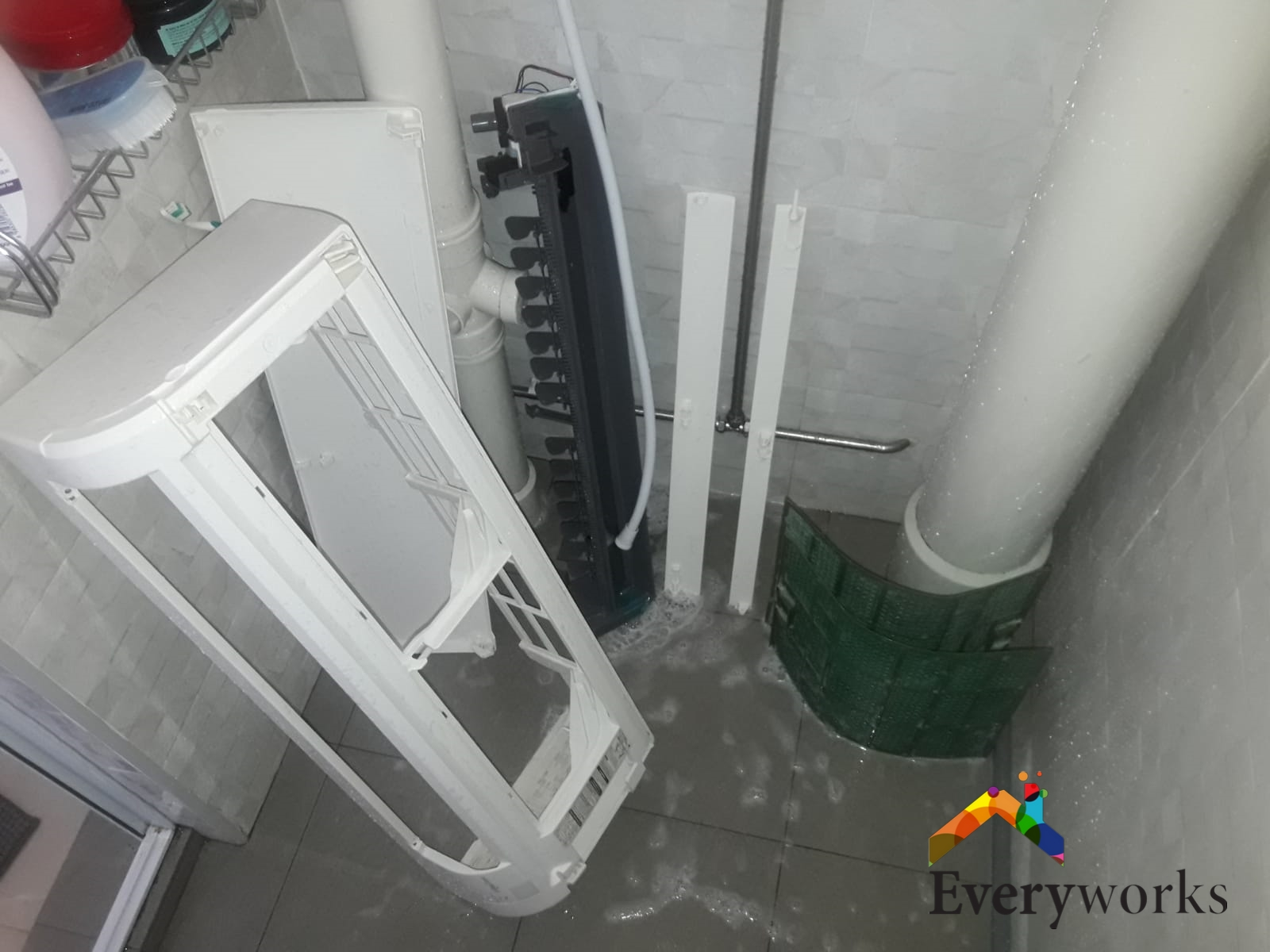 Aircon Chemical Overhaul Fan Coil Aircon Servicing Singapore – Landed, Clementi