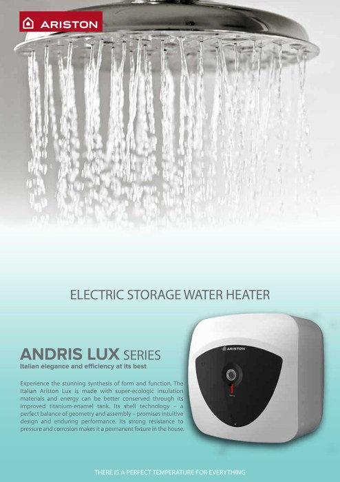 Ariston Andris LUX 15 Storage Water Heater 15L