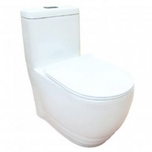 Baron W-368A 1-Piece Toilet Bowl