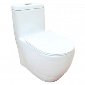 Baron W-368A 1-Piece Toilet Bowl