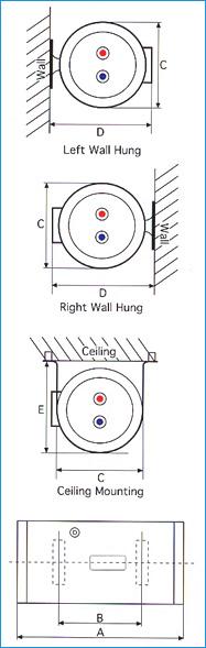 Rheem EHG 40 Electric Storage Water Heater