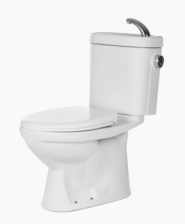 Saniton Camellia ST2488-SC3033IB-3 2-Piece Toilet Bowl