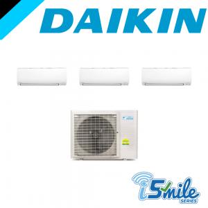 Daikin iSmile Series (Inverter) - SYSTEM 3 AIRCON (MKS80TVMG / CTKS25TVMG X3)