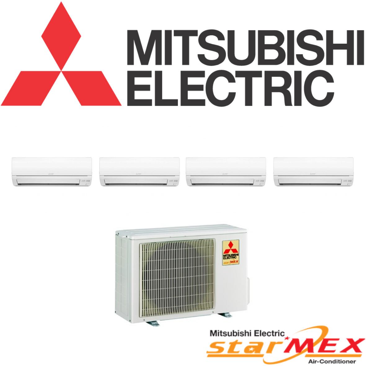 Mitsubishi Electric (Inverter) - SYSTEM 4 (MXY-4G38VA2 / MSXY-FN10VE X3 / MSXY-FN18VE)