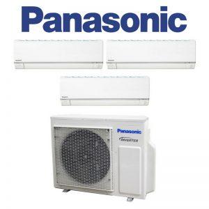 Panasonic (XS-Series Premium Inverter) – SYSTEM 3 AIRCON (CU-3XS27UKZ / CS-MXS9UKZ X3)