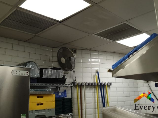 Aircon Servicing Ceiling Ducted + Fan Coil Commercial Kitchen /Restaurant & Office – City Hall