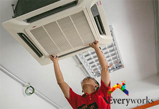 aircon-servicing-singapore-signs-commercial-aircon-needs-servicing-everyworks-singapore