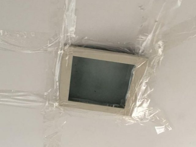 Ceiling Light Repair Replace Dropped Out Light with False ceiling repair Electrician Singapore – Landed Sunrise Ave