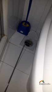 clear-floor-trap-choke-plumber-singapore-condo-holland