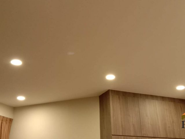 Downlight IC Switch Replacement Light Repair Electrician Singapore – Condo, Hillview Avenue