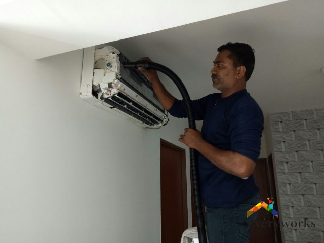 Aircon Chemical Cleaning Aircon Servicing Singapore – HDB Telok Blangah