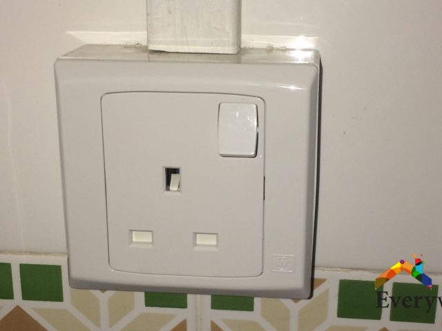 Change Power Socket , Power Switch Electrician Singapore – HDB Hougang