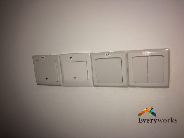 Light Switch Repair Electrician Singapore – Commercial Jurong East