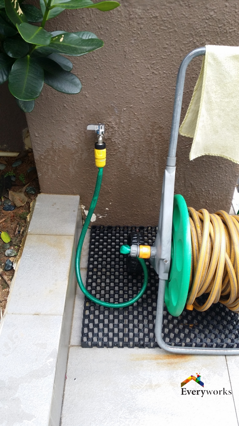 Replace Leaking Garden Tap Installation Plumber Singapore – Landed Pasir Ris