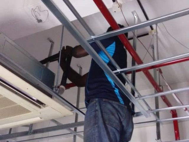 Cassette Aircon Installation Singapore – Commercial Office Redhill