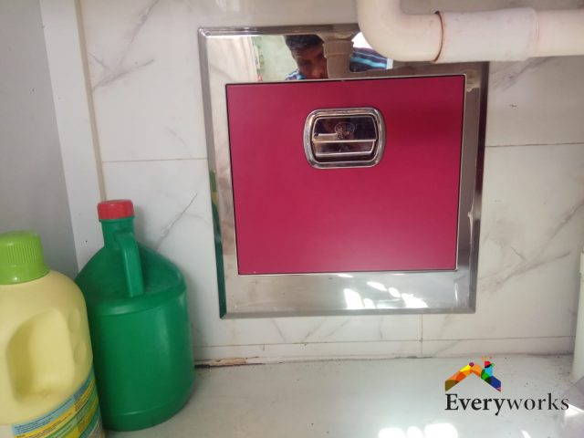 HDB Rubbish Chute Replacement Handyman Singapore – HDB Bedok Reservoir