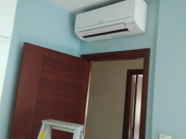Mitsubishi System 3 Aircon Installation Aircon Servicing Singapore- HDB Serangoon