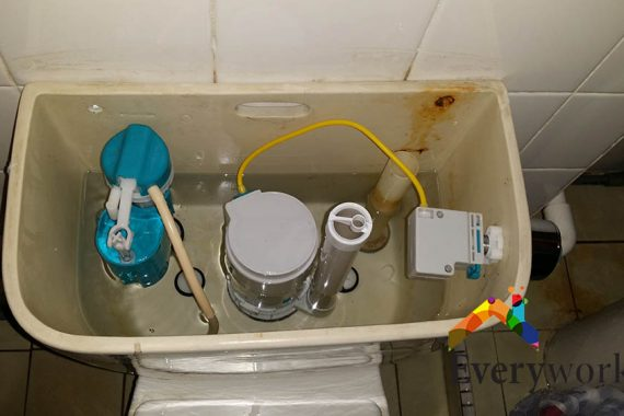 Replace-flush-system-everyworks-plumber-singapore-HDB-Jurong-west-1
