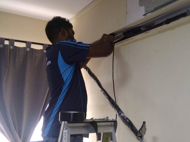 Aircon Replacement Aircon Installation Aircon Servicing Singapore – HDB Yishun Street