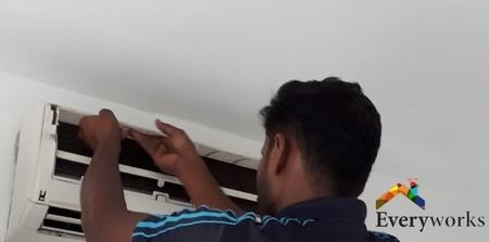 fan-coil-aircon-installation-everyworks-aircon-servicing-singapore-condo-cashew-road