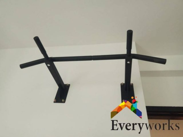 Pull Up Bar Installation Drilling Services Handyman Singapore HDB – Toa Payoh