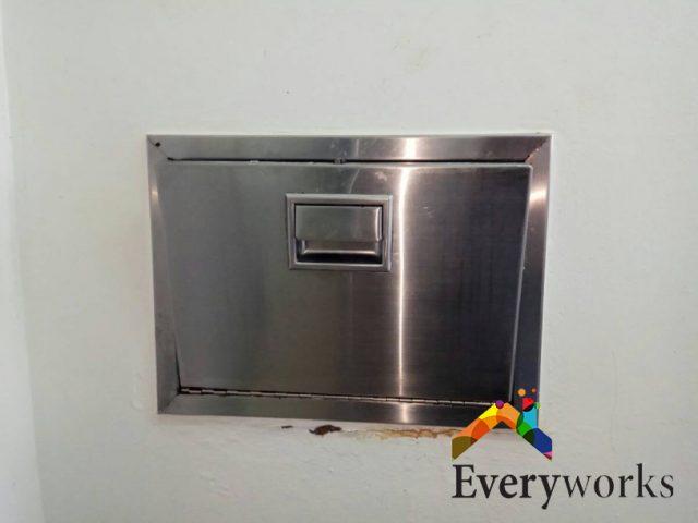 Rubbish Chute Replacement Rubbish Chute Services Handyman Singapore – Condo Toa Payoh