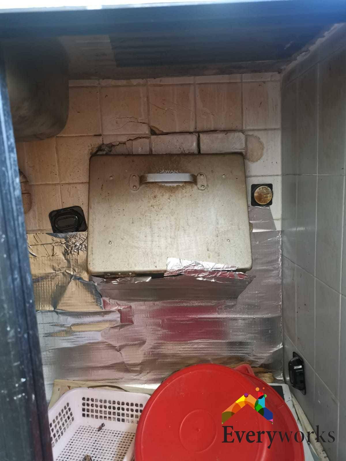 Rubbish Chute Replacement Rubbish Chute Services Handyman Singapore – HDB Yishun