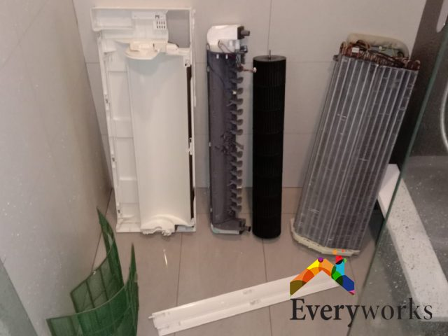 Aircon Chemical Overhaul Aircon Servicing Singapore – Condo Punggol