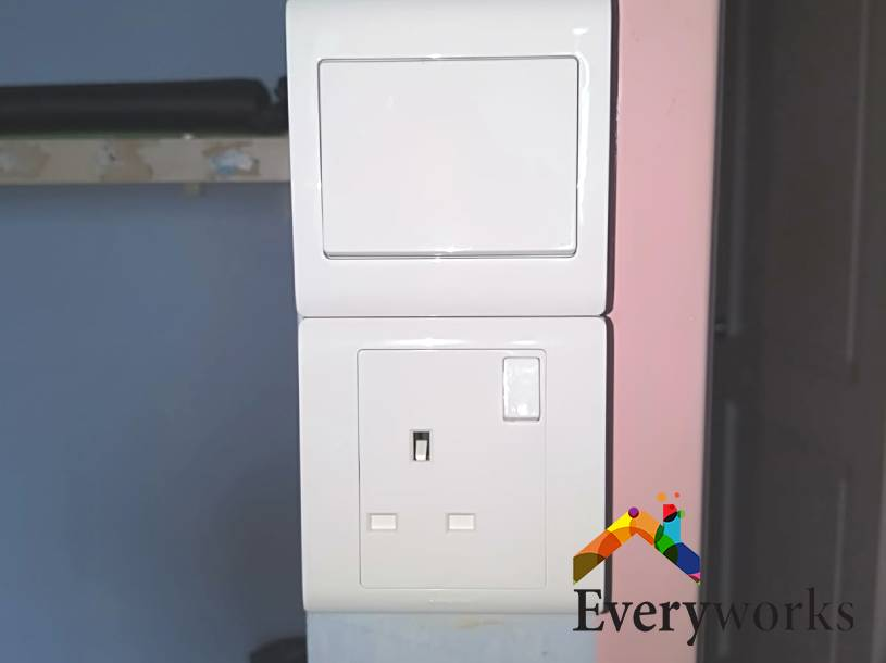 Light Switch and Socket Replacement Light Switch Services Electrician Singapore – HDB Simei