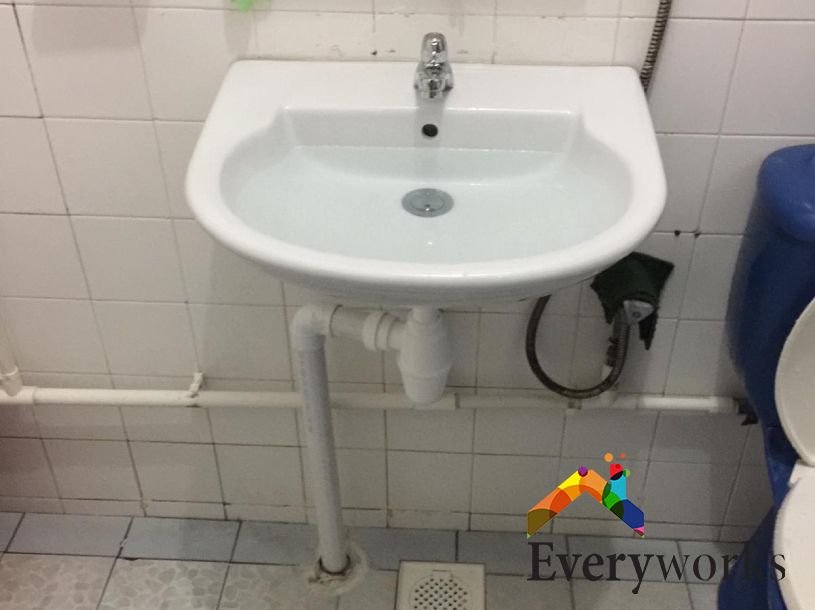 Basin Replacement Plumber Singapore HDB – Pasir Ris