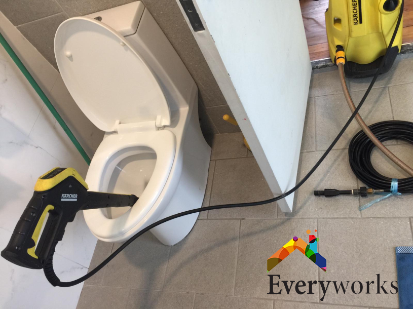Clear Toilet Bowl Choke Plumber Singapore Condo – Thomson