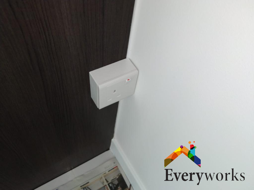 Power Socket Installation Electrician Singapore – Condo Bukit Batok