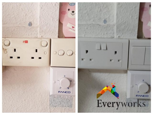 Power Socket Replacement Electrician Singapore – HDB Bedok