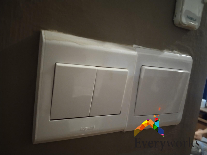 Water Heater Switch Replacement Electrical Switch Services Electrician Singapore – Condo Ang Mo Kio