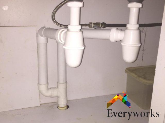 Sink Pipe Installation Plumber Singapore HDB – Bukit Merah