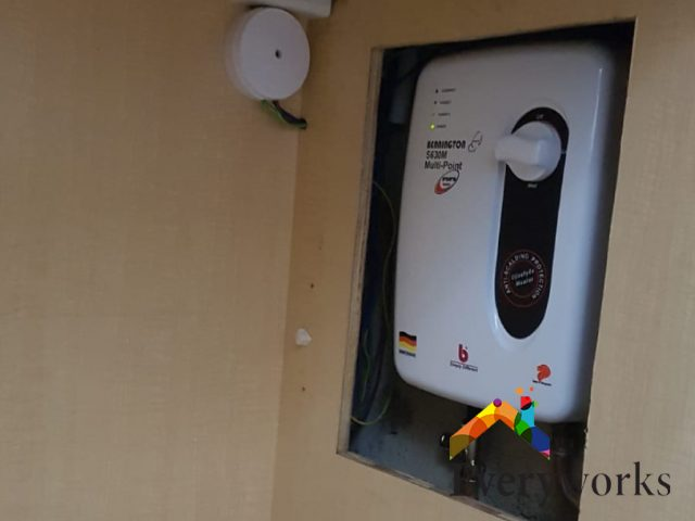 Multipoint Water Heater Replacement Handyman Singapore HDB – Hougang