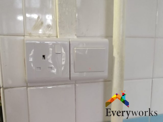 Heater Switch and Socket Replacement Electrician Singapore HDB – Katong