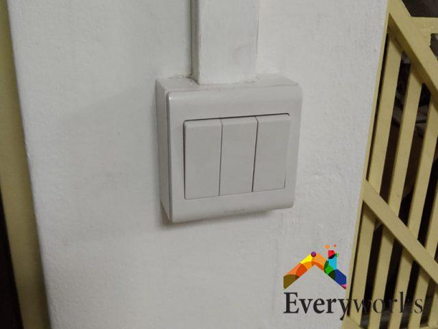 Light Switch Installation Electrician Singapore HDB – Bishan