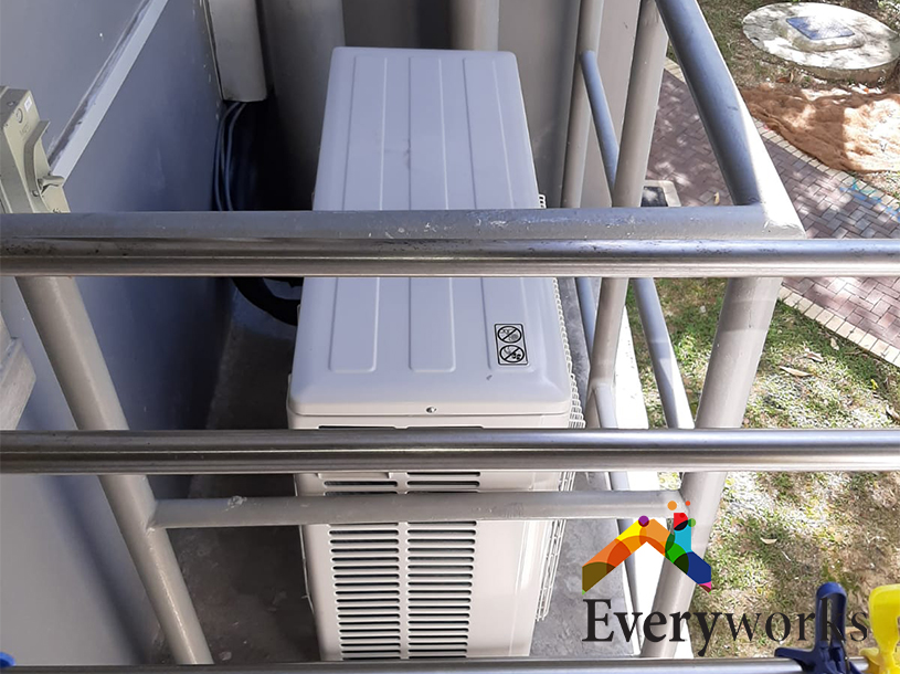 Aircon Pipe and System Replacement Aircon Servicing Singapore HDB – Pasir Ris