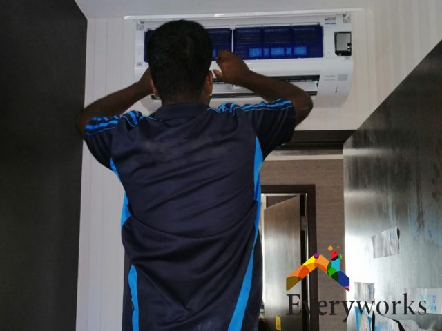 System 4 Aircon Replacement Aircon Servicing Singapore Condo – Geylang