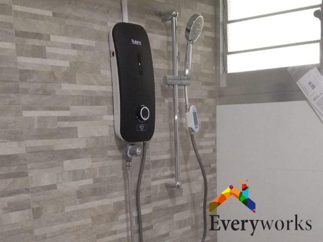Instant Water Heater Replacement Plumber Singapore HDB – Bukit Batok