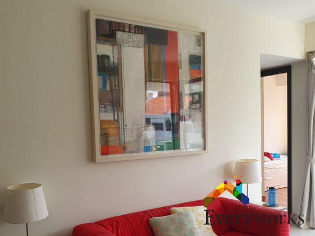 Photo Frame Installation Handyman Singapore Condo – East Coast