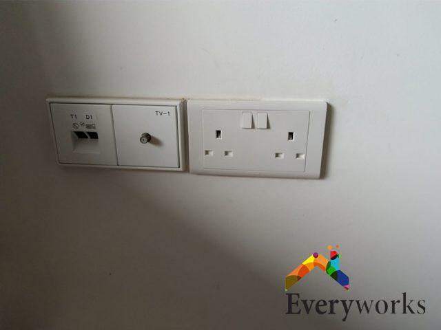 Socket Replacement Electrician Singapore Condo – Katong