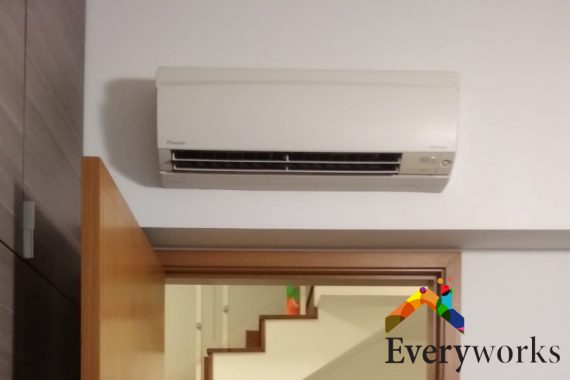 unit-above-door-smelly-aircon-everyworks-aircon-servicing-singapore