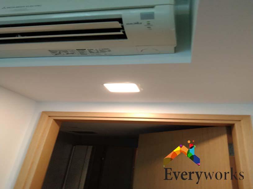 Light Replacement Electrician Singapore Condo – Whampoa